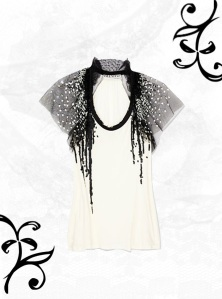 Valentino Sequin Embellished Top
